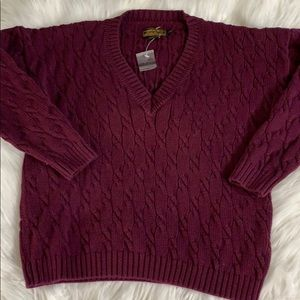 Eddie Bauer outdoor outfitters purple pullover